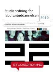 Studieordning 2010