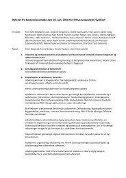 Referat fra bestyrelsesmøde den 10. juni 2010 for Erhvervsakademi ...