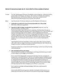 Referat fra bestyrelsesmøde den 25. marts 2010 for ...
