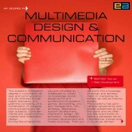 MULTIMEDIA DESIGN & COMMUNICATION