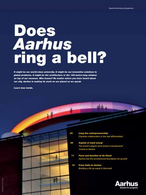 Does Aarhus ring a bell?