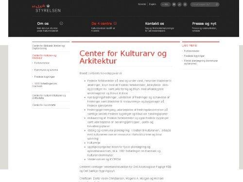Fredede bygninger - Rum - Arkitektskolen Aarhus