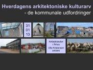Hverdagens arkitektoniske kulturarv - Rum
