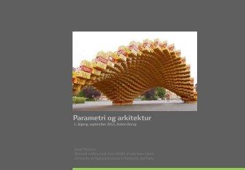 Parametri og arkitektur - Rum