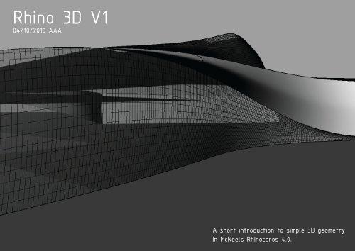 Rhino 3D V1 - Rum