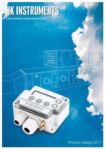 Product catalog 2011 - HK Instruments