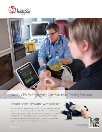 Quality CPR for Emergency Care Simulation ... - Laerdal Medical
