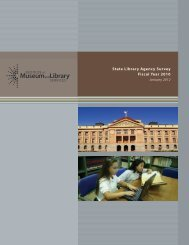 state library agencies: Fiscal Year 2010 - Institute of Museum and ...