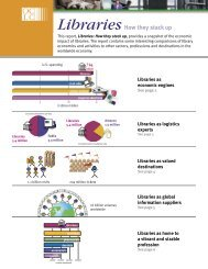 Libraries: How they stack up - OCLC
