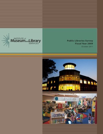 Public Libraries Survey Fiscal Year 2009 - Institute of Museum and ...