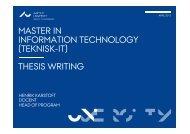 Presentation, Thesis 12_04_13