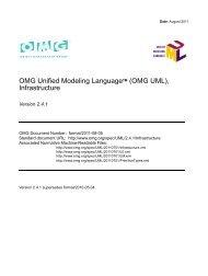 UML 2.0 Infrastructure