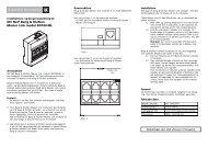 IHC Net® Bang & Olufsen Master Link modul ... - Lauritz Knudsen