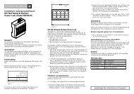 IHC Net® Bang & Olufsen Power Link modul ... - Lauritz Knudsen