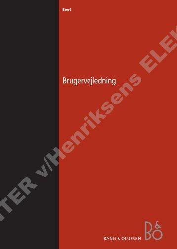 UG-03 Beo4 DVD.p65 - Henriksens Elektronik