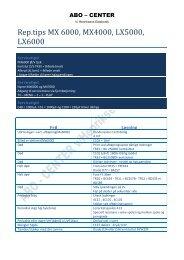 Rep mx4000_mx6000_lx5000_lx6000 100511.pdf - abo - center