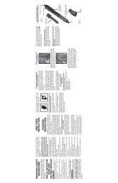 Instruction Booklet - Conair