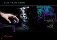 ProDJ-serie 2008 - Audio Tech