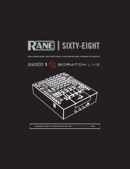 Rane Sixty Eight Mixer Manual - UniqueSquared.com