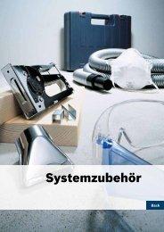 Systemzubehör - Bosch Elektrowerkzeuge