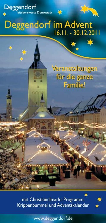 Sonstige Veranstaltungen - Deggendorf