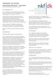 Kan downloades som pdf-fil - Nordisk Konservatorforbund Danmark
