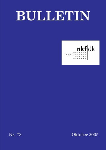 download pdf: 1 mb - Nordisk Konservatorforbund Danmark