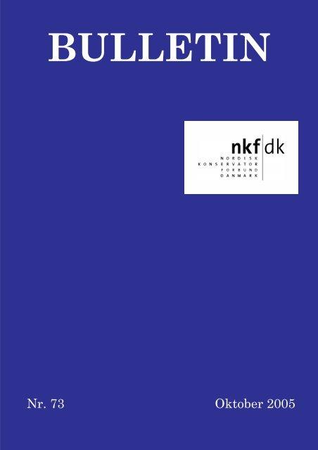 download pdf: 1 mb - Nordisk Konservatorforbund Danmark
