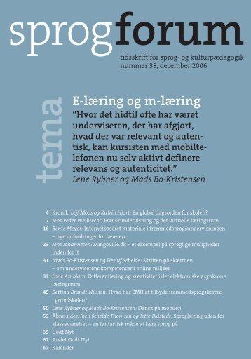 Sprogforum 38 - Aarhus Universitetsforlag