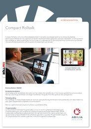 Compact Rolltalk - Abilia