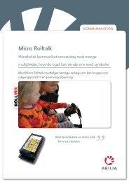 Micro Rolltalk - Abilia
