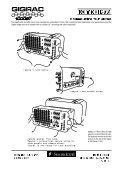 Gigrac 1000ST Data Sheet - DJ Deals - Page 3
