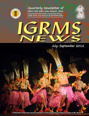 July-September 2012 - IGRMS