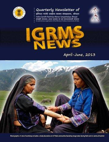 April-June, 2013 - IGRMS