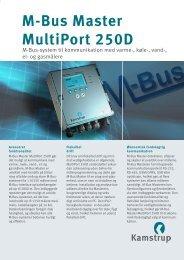 M-Bus Master MultiPort 250D - Kamstrup A/S