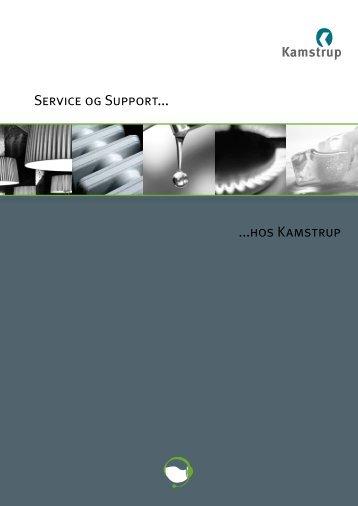hos Kamstrup Service og Support - Kamstrup A/S