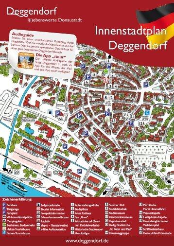 Innenstadtplan Deggendorf