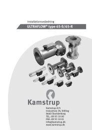 Installation - Kamstrup A/S