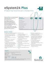 eSystem24 Plus - Kamstrup A/S