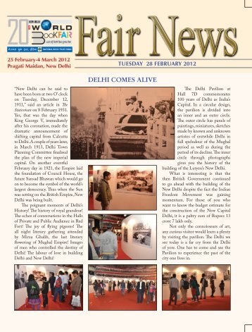 Fair News 28 February, 2012 - National Book Trust India