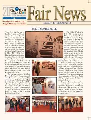 Fair News 28 February, 2012 - National Book Trust India