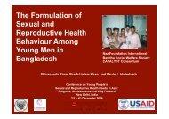 Sexual Knowledge - Naz Foundation International
