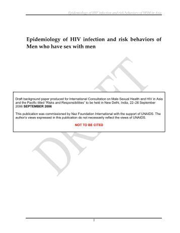 epidemiology hiv Read chapter 3 epidemiology of the hiv/aids epidemic: the aids epidemic in sub-saharan africa continues to affect all facets of life throughout the subc.