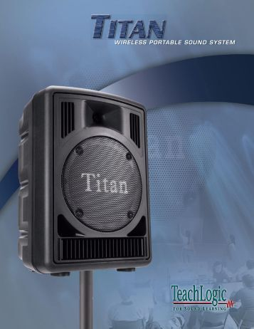 WIRELESS PORTABLE SOUND SYSTEM - Pro Sound & Lighting