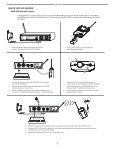 Shure PSM200 User Guide - Full Compass - Page 4