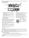 Shure PSM200 User Guide - Full Compass - Page 7
