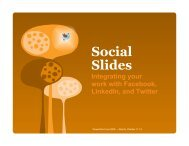 Social Slides - Richard Harrington Blog