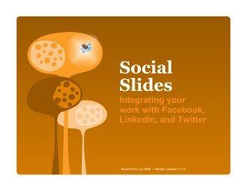 Social Slides - Richard Harrington Blog