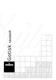 Folder om gotisk skrift (pdf)