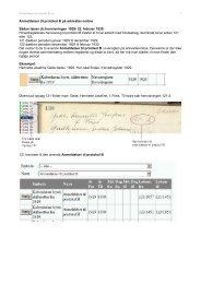 Sådan bruger du Anmeldelser til protokol B 1929-1935 på arkivalier ...